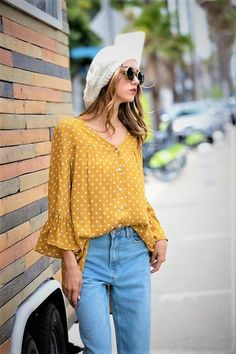 68066eeaf4a22f Sweetness Polka Dot Top   Wild at Heart Boutique  holidaytrends fall