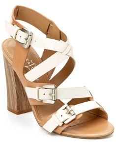 "Ivanka Trump ""Berni"" Leather Strappy Sandal"