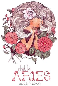 Aries the ram artist silvia mihailescu astrological for Flowers for aries woman
