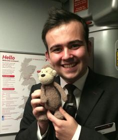 FOUND on SOUTHERN UK TRAIN  Little jellycat monkey found on a Southern UK Train. He was handed in to lost property down in Southampton Contact: https://twitter.com/Andy_Cox93