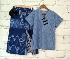 Sewing Tops For Women Blouses Diy Clothes 56 Ideas For 2019 Blouse Batik, Batik Dress, Traditional Skirts, Girls Dresses Sewing, Batik Kebaya, Thai Fashion, Sewing Blouses, Kimono Design, Batik Fashion