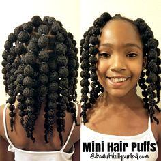 hair puff balls