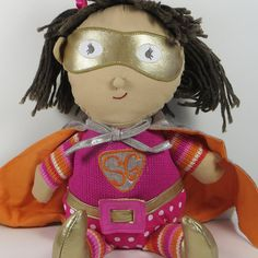 Super Girl Soft Toy - French Pear Gifts
