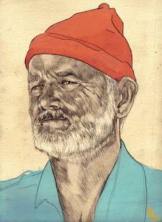 Philipp Banken illustration of Bill Murray