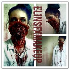 Exploded Zombie Face