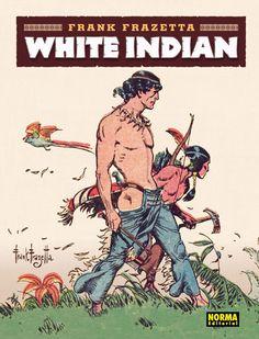 White Indian, de Frank Frazetta.