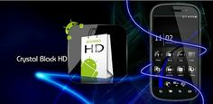 Theme Crystal Black Flat HD v7 Apk Download Free