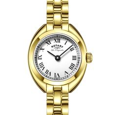 Rotary Lucerne Ladies Gold Swiss watch - LB90160/01