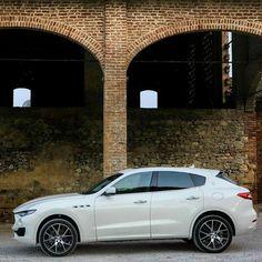 The #MaseratiLevante is in its element everywhere. #MaseratiSUV #Maserati #Levante
