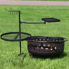 Sunnydaze Dual Campfire Cooking Swivel Grill System The Effective Pictures We Offer You About grilling tips A quality picture can tell you many things. You can find the most beautiful pictures that ca Fire Pit Grill Grate, Fire Pit Cooking Grill, Cooking On The Grill, Campfire Grill, Cooking Steak, Fire Pit Lava Rocks, Glass Fire Pit, Fire Pit Poker, Fire Pit Spark Screen