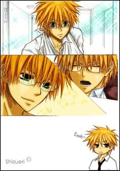 Usui Takumi - Kaichou wa Maid-sama. why on earth dosnt he exist in real life. Such a gentleman he is!