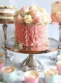 Indescribable Your Wedding Cakes Ideas. Exhilarating Your Wedding Cakes Ideas. Gorgeous Cakes, Pretty Cakes, Cute Cakes, Amazing Cakes, 6 Cake, Cake Art, No Bake Cake, Cupcake Cakes, Mini Cakes