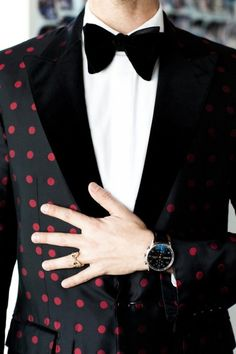 Blazer with Red Points #Chic