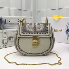 513852d02d6c Chloe DREW saddle full blue/mustard contrasting leathers bag 3s0490 size:23CM  0800C8 whatsapp:+8615503787453