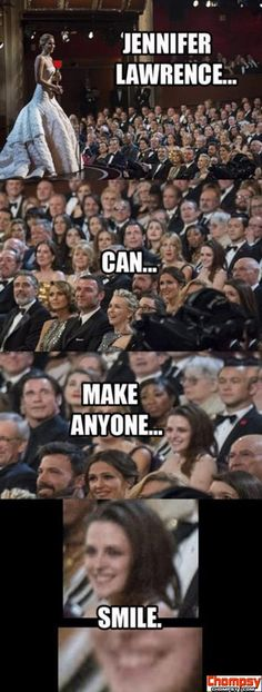 And Jennifer Lawrence also makes me laugh this is why i love her