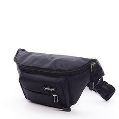 #diviley Černá ledvinka okolo pasu z textilu. Ledvinky se vrací do módy a s nimi i jejich praktické užití. Hlavní kapsa ukrývá menší kapsu na zip. Vepředu ledvinky je pak další kapsa na zip. Ideální pro volný čas.