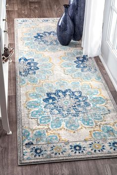BosphorusBD59 Withered Bloom In Bouquet Rug