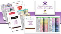 Colored Pencil Conversion Chart   annkullberg.com