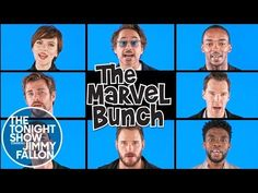 "Avengers: Infinity War Cast Sings ""The Marvel Bunch"" - YouTube"