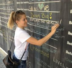 The Before I Die Wall is proving to be the star attraction of the Savannah Urban Arts festival running through 7th May!