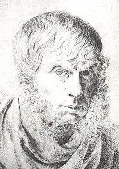 Self Portrait - Caspar David Friedrich.(September 5, 1774 – May 7, 1840) was a 19th-century German  Romantic Landscapepainter, generally considered the most important German artist of his generation.