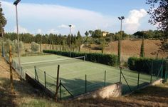 tennis court for  your #farmhouseTuscany from #simonettacecchiniimmobiliare