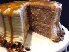CARAMEL APPLE SPICE CAKE