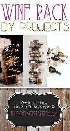 Wine Rack DIY Projects
