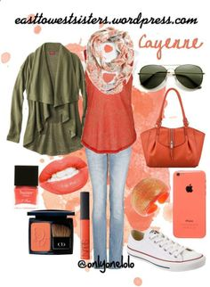 Cayenne | East to West Pantone's predicted Spring 2014 Fashion Color. Check out this blog for more outfit inspirations!