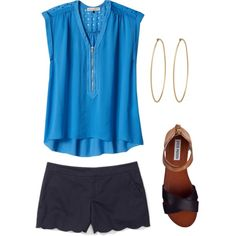 """""""casual chic 2"""" by lesliekerr on Polyvore"""