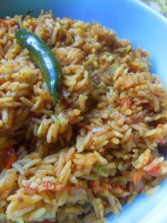 Simple Red Rice~ Arroz Estilo Mexicano. Revised Post with New Tips For Cooking Mexican Style Rice.
