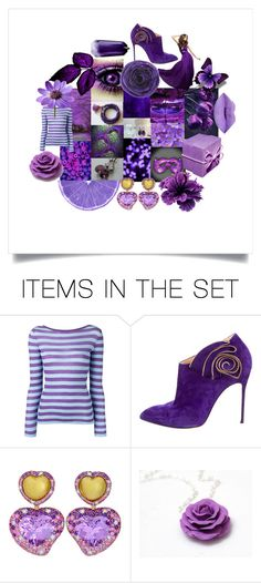 """""""Purple Bliss"""" by crystalglowdesign ❤ liked on Polyvore featuring art"""