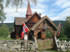 Rollag Stave Church - Rollag Municipality, Norway