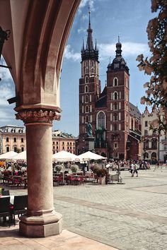 Krakow, Poland. I'm over fifty percent Polish and I've always wanted to visit Poland! =)
