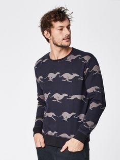 Ethical Fashion, Mens Fashion, Whippet, Cotton Sweater, Dark Navy, Bohemian Style, Organic Cotton, Men Casual, Menswear