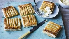 The Bramley apples in these easy puff pastry pies pair perfectly with marzipan for a sweet tart hand pie. Bramley Apple Recipes, Apple Pie Recipes, Bbc Recipes, Pastry Recipes, Diet Recipes, Croissant, Puff Pastry Apple Pie, Mini Apple, Sweet Tarts