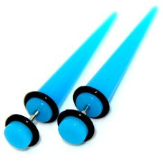 Fake Cheaters Illusion Tapers Expanders Stretchers Plugs (Color Turquoise, Shaft Size 16G or (1.2mm), Appearance 2G or 6mm, SOLD as a Pair) . $7.99. Fake Cheaters Illusion Tapers Expanders Stretchers. Shaft Thickness 16G or 1.2mm. Acrylic Turquoise Color with two o-rings. Shaft Length 6mm. Appearance 2G or 6mm (look) Medium. Save 47%!