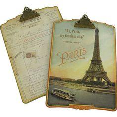 Paris clip board