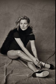 Kate Moss Vogue Italia January 2015