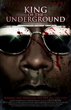 Part true story, part fiction, King of the Underground is a dark comedy about a frustrated rap artist who goes on an all out murderous killing spree. Internet Movies, Jersey City, Top Movies, Streaming Movies, True Stories, Rap, Comedy, Fiction, King