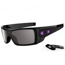 2f2c1df8be Oakley Batwolf Sunglasses Polished Black   Warm Grey Lens Mens Sunglasses  Oakley