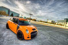 Orange John Cooper Works, Mini Coopers, Minis, Clay, Orange, Autos, Clays, Modeling Dough