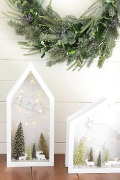 Winter Dioramas Are a Huge Trend Right Now and Our Christmas-Loving Hearts Are Burstingcountryliving
