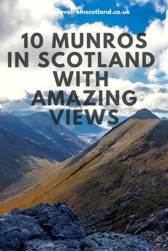 Fancy climbing a Munro in Scotland? If you are thinking of bagging a Munro here are my recommended Munros for beginners in Scotland. Scotland Hiking, Scotland Travel Guide, Scotland Trip, Places To Travel, Places To Visit, Road Trip Destinations, Holiday Destinations, England Ireland, Drame