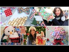 DIY Holiday Gift Guide! For Friends, Family, Boyfriend etc! - YouTube