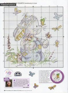Cross stitch baby bunnies, there are many different ones here