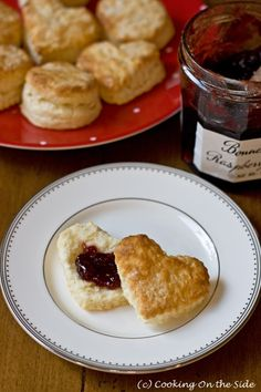 Southern-Style Biscuits ...get the #recipe at www.cookingontheside.com (c) Kathy Strahs