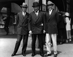 The kings of Culver City, Harry Rapf, Louis B. Mayer, Irving Thalberg