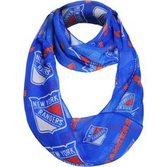 Forever Collectibles New York Rangers Peak Infinity Scarf, Team