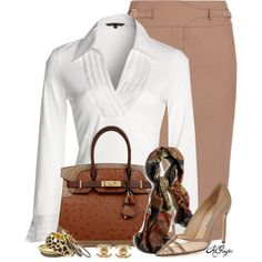 """""""Classy in the Office"""" by kginger on Polyvore"""